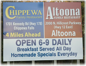 Altoona & Chippewa Family Restaurant